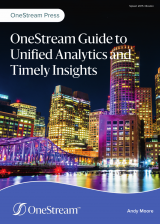 OneStream Guide to Unified Analytics and Timely Insights